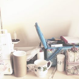 Sewing Space = Bench