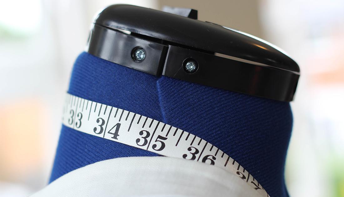 Dress Form & Tape Measure