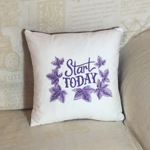 Start Today Cushion
